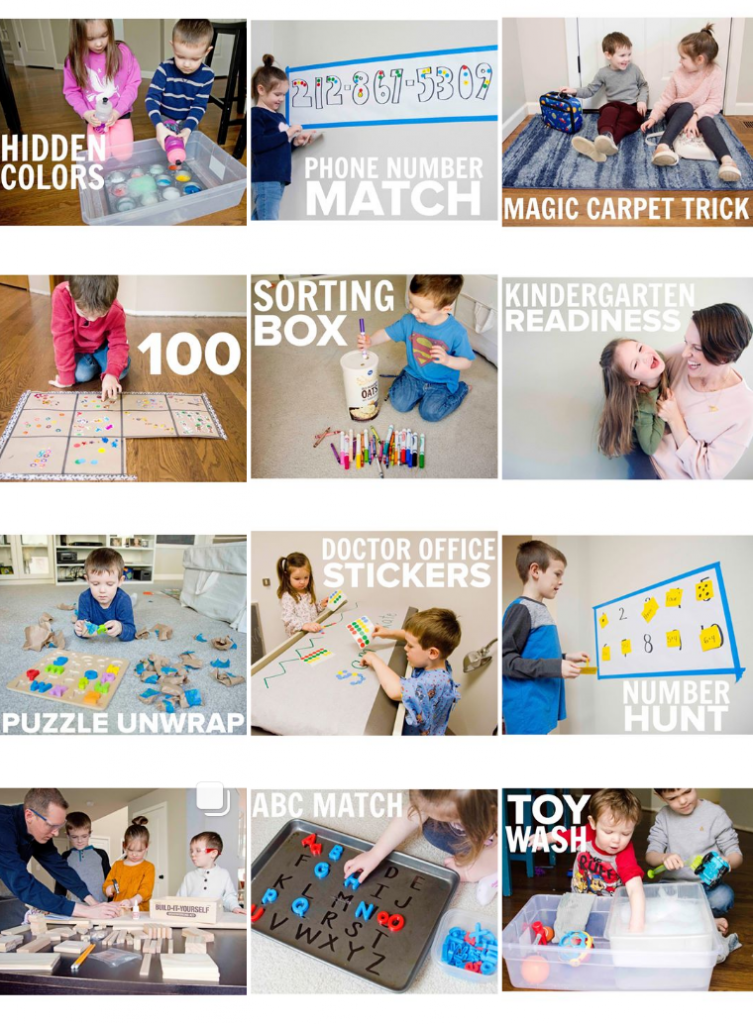 busy toddler instagram feed