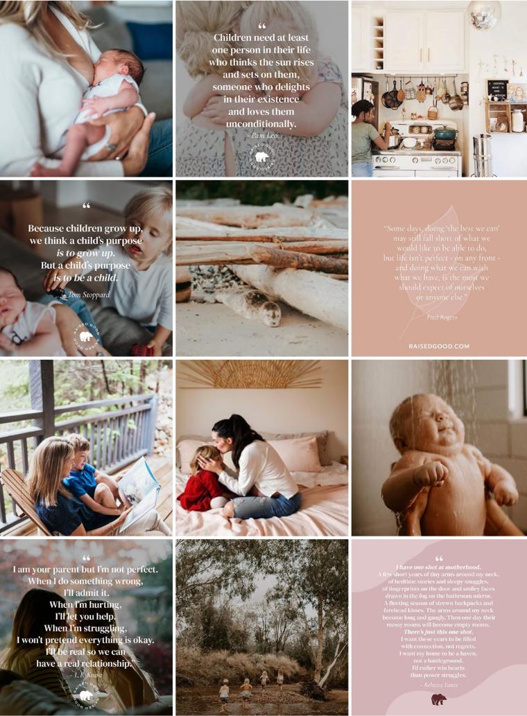 raised good instagram feed