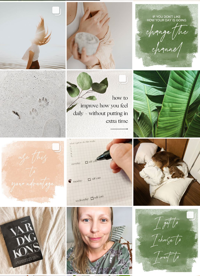 slowdown jenna feed. Instagram accounts for isolated parents blog post.